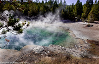 Steaming Mineral Pool
