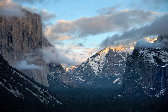 Tunnel View--Yosemite